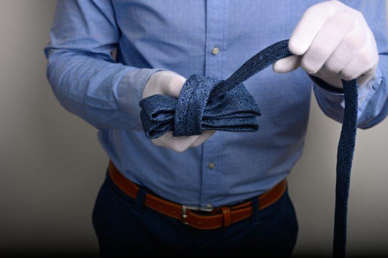 Krawatte Knoten Bilden Ansicht 3